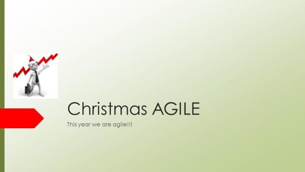 Christmas AGILE