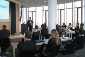 e-procurement auf dem Business-Lunch