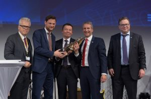 """BME-Innovationspreis 2016"" awarded to Bosch for its innovative approach to indirect purchasing"