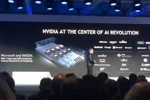 Helps to make cars smart: Jen-Hsun Huang, founder of Nvidia, supplies the computing power for the learning car with his company