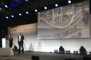 Live demo: Christian Kastl (SupplyOn) presented an innovative industry 4.0 scenario