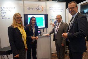 At the BME e-solution conference, Newtron and SupplyOn presented their solutions together for the first time
