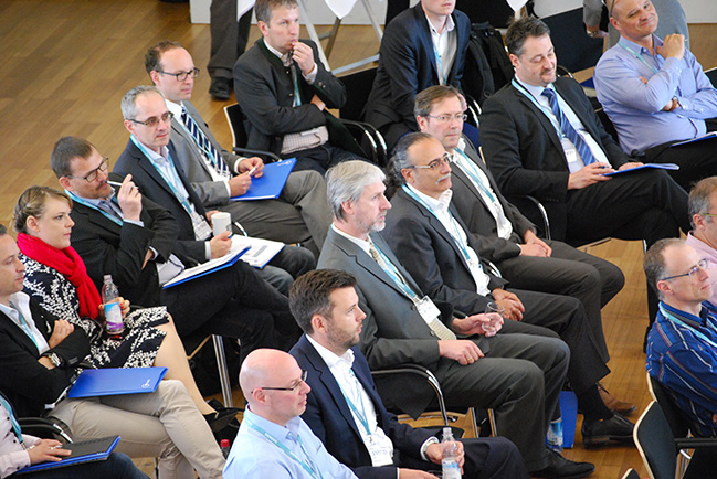 Mehr als 60 Teilnehmer diskutierten auf dem ersten Lieferantentag von Siemens und SupplyOn über die Digitalisierung der Supply Chain