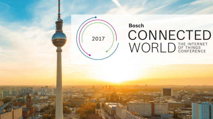 Ranks among the leading conferences on the Internet of Things (IoT): The Bosch Connected World in Berlin