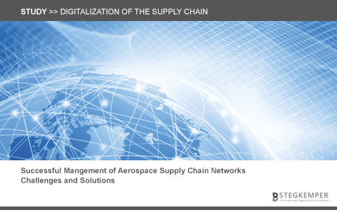 "Study ""Digitalization of the aerospace supply chain"""