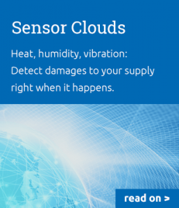 Condition Monitoring via Sensor Clouds: Heat, humidity, vibration -- Detect damages to your supply right when it happens