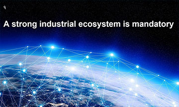 Industrial ecosystems are important to remain competitive in the future