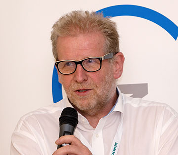 Wolfgang Böhme, Siemens AG: traceability and documentation are a major bonus