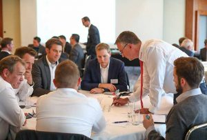 Intensive, productive discussions in the CEF workshops (photo courtesy of IPM)