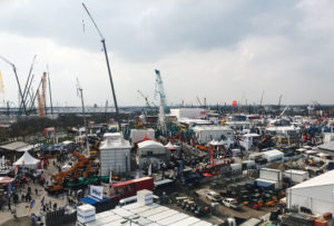 A truly gigantic trade show: The bauma 2019