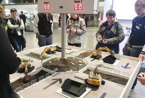bauma not only focussed on trade visitors, but also on young talent