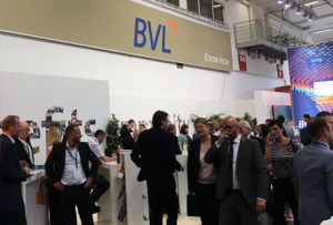 Popular networking venue: The BVL booth