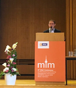 Professor Dmitry Ivanov welcomes the MIM 2019 participants