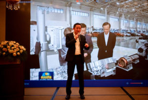 Huang Lei shared inspiring insights into intelligent manufacturing at Sokon