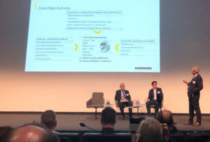 Liebherr presentation about the next generation of drives