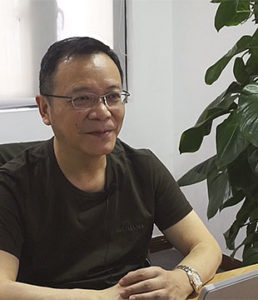 Lui Yusheng, Head of the Intelligent Manufacturing Team at Sokon, designed the IT landscape with its three pillars for Seres